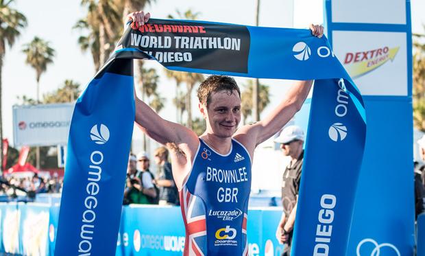 Alistair Brownlee wins San Diego 2013