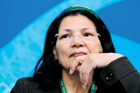 Anita De Frantz Vancouver 2010