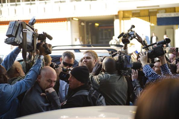 Oscar Pistorius arrives at court June 4 2013