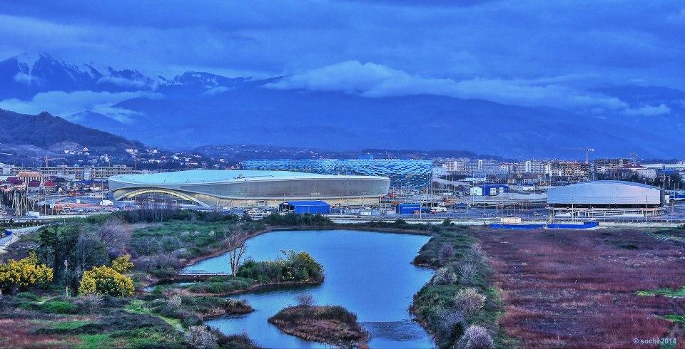 Sochi 2014 landscape shot