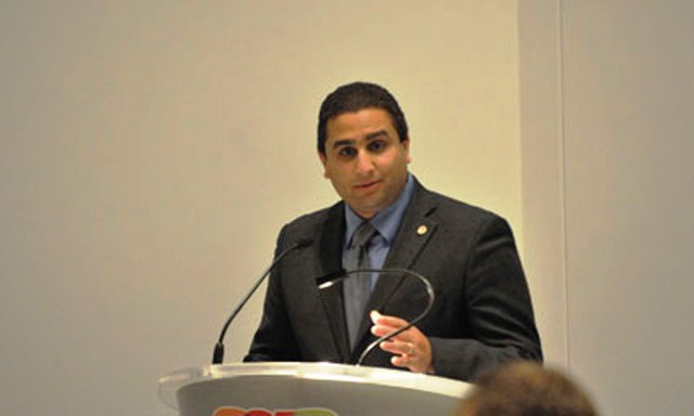 Ahmed El-Amadi will take over as chief executive officer of Swimming Canada on Aug 19