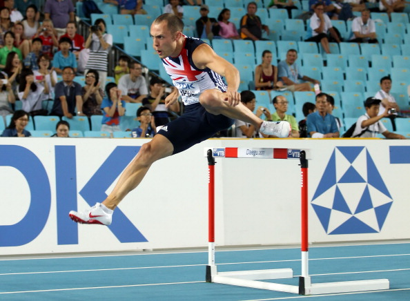 As a reigning world champion Dai Greene automatically qualified for the 2013 IAAF World Championships