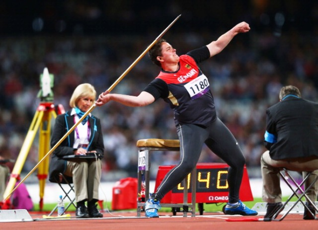 Birgit Kober added a second word javelin title to the Paralympic gold she won at London 2012
