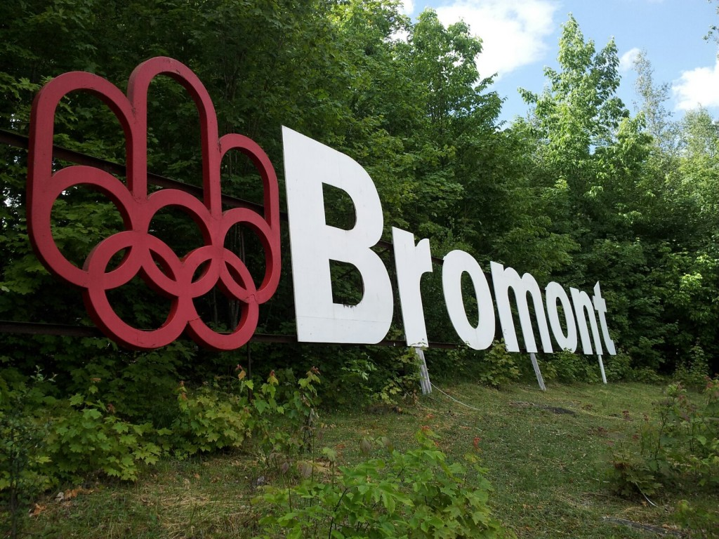 Bromont olympic sign