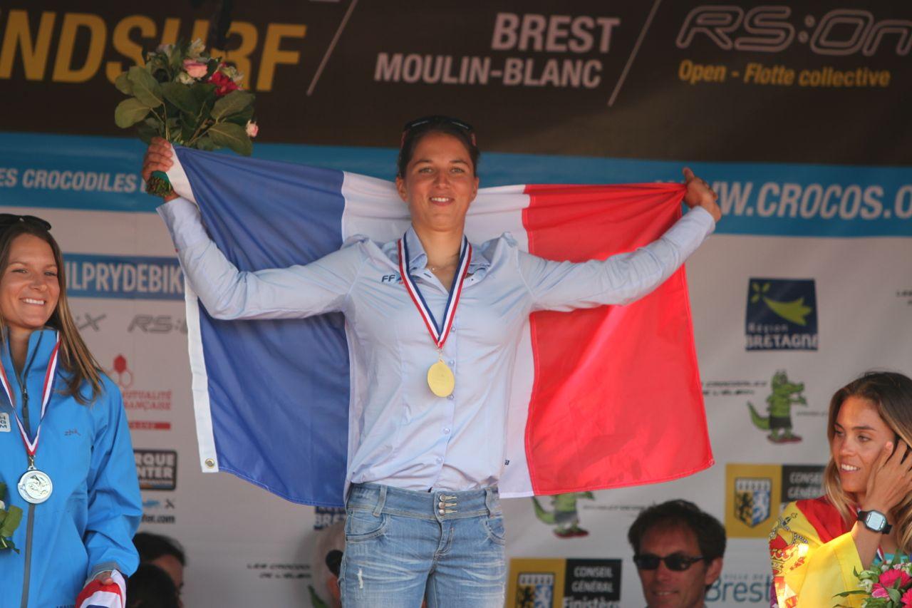 Charline Picon Brest July 2013