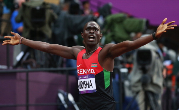 David Rudisha has been ruled out of the World Championships with a knee injury