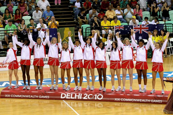 Englands Netball team will be hoping to repeat their medal performance from 2010 in Glasgow