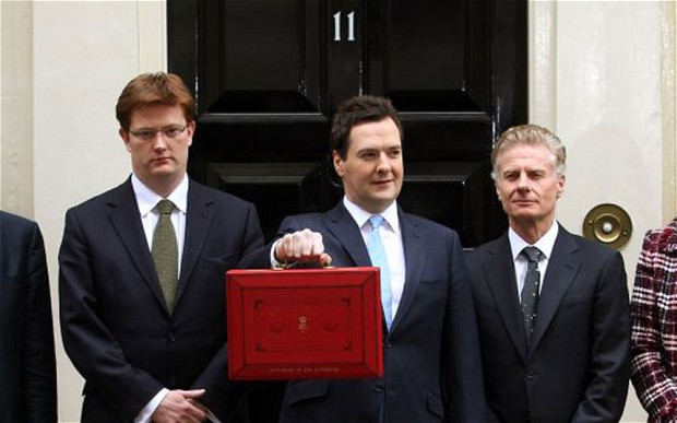 George Osborne Paul Deighton