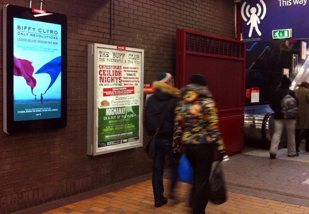 Glasgow billboards