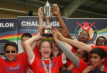 Harrow Lift the Panathlon Trophy