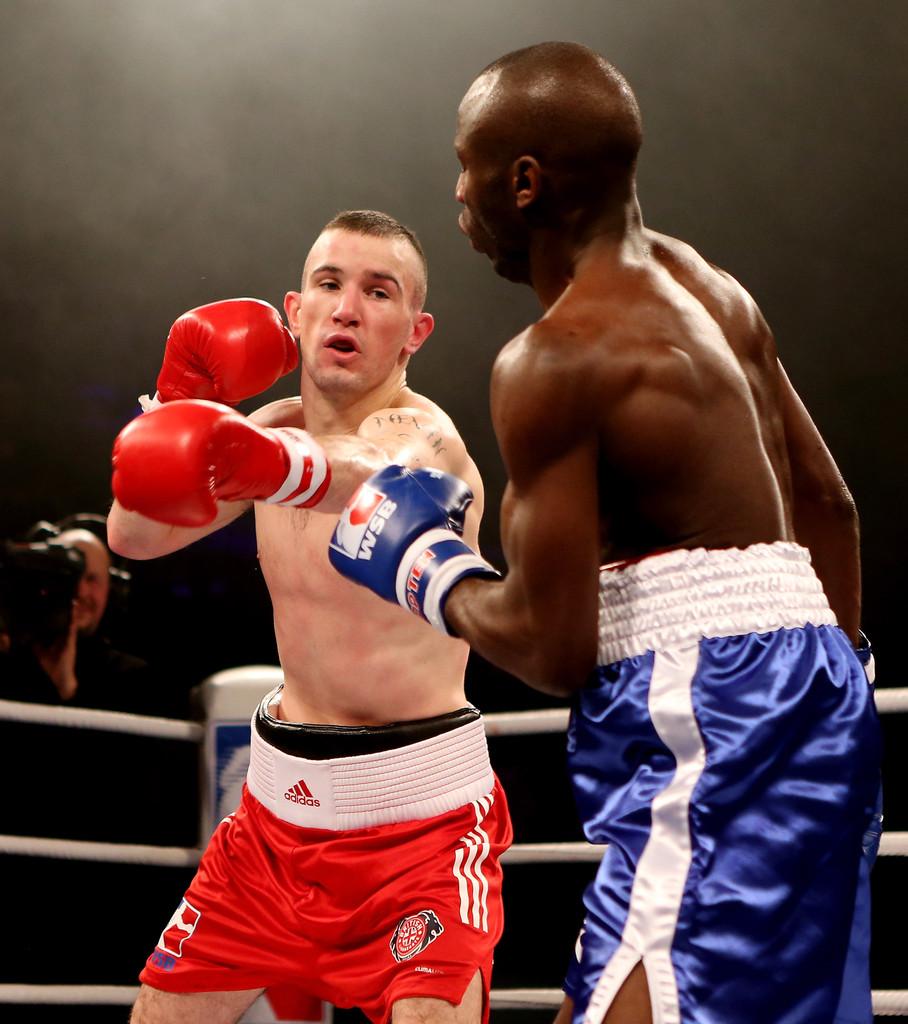 John Joe Nevin fighting for British Lionhearts