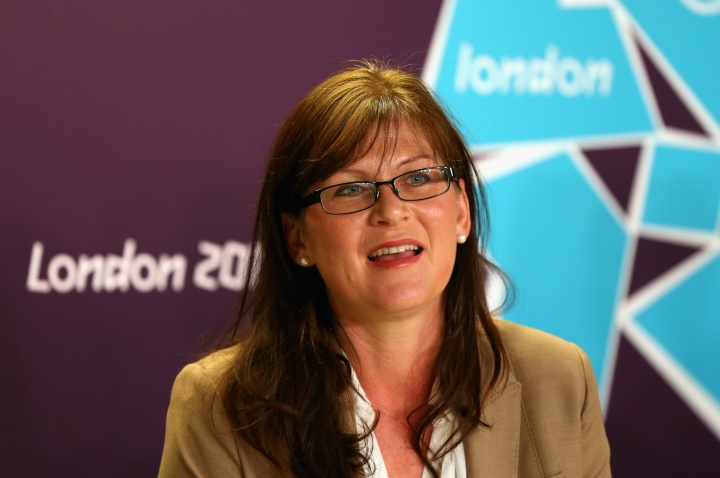 Kate Lundy at London 2012