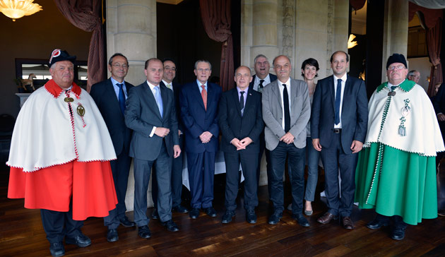 Lausanne held a special reception to celebrate the accomplishments of Jacques Rogge