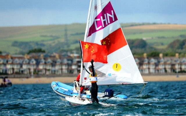 London 2012 gold medallist Xu Lijia of China picked up the Sailor of the Year award last year