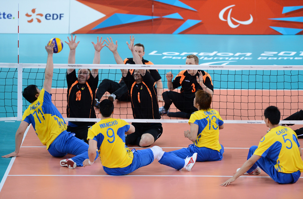 London 2012 sitting volleyball
