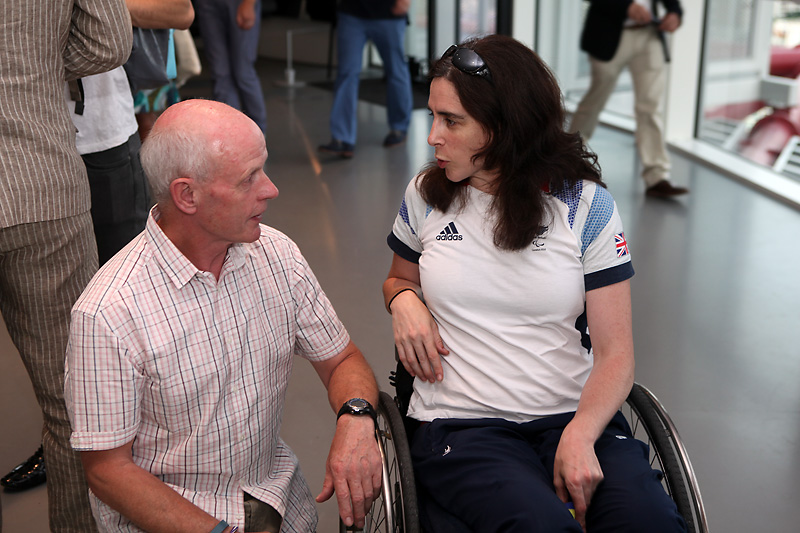 London 2018 Claire Harvey Team GB womens sitting volleyball team captain