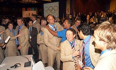London wins Olympic bid