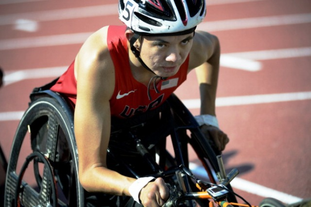 Raymond Martin became the most successful individual male at a single IPC World Championships with five gold medals