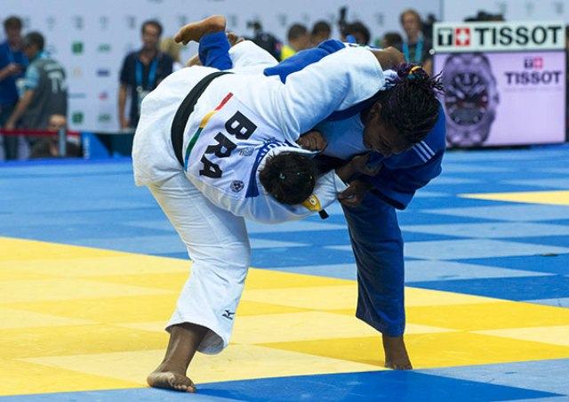 Cuba's Idalys Ortiz Bocourt defeated Brazil's Rochele Nunes to gain revenge for earlier defeat to the same opponent in the women's -78kg