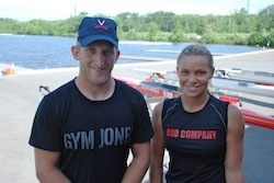 Rob Jones and Oksana Masters