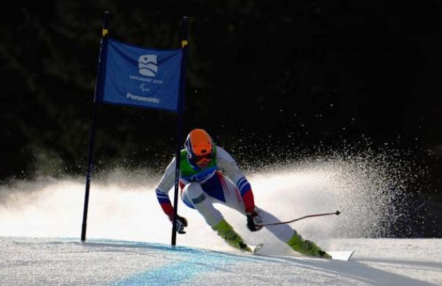 Russian Paralympic skier Alexander Alyabyev will be hoping to finish in the medals in front of his home crowd at Sochi 2014