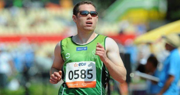 Smyth winning 100m