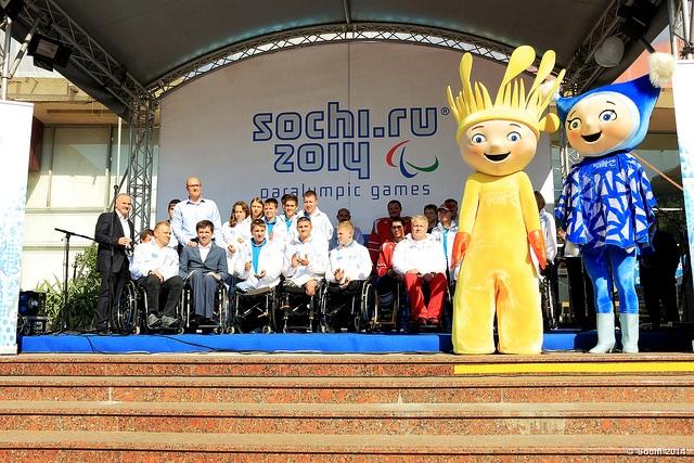 Sochi 2014 school visits