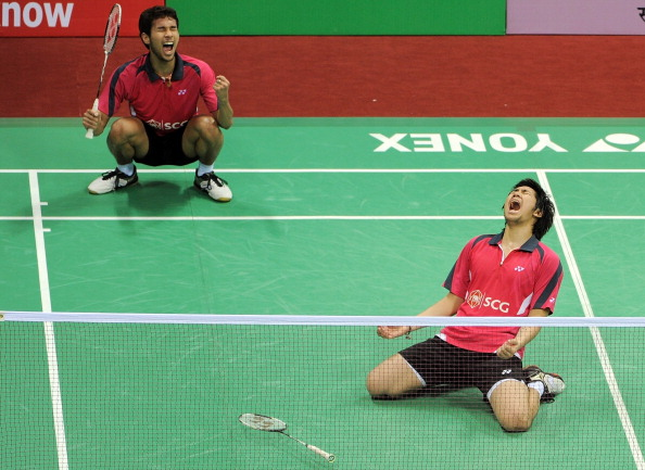 Thailand Badminton players in happier times