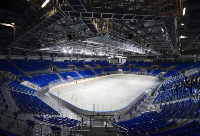 The Shayba Arena in Sochi will host the ice sledge hockey competition at next years Paralympic Winter Games