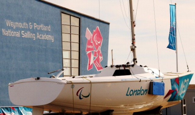 The Weymouth and Portland National Sailing Academy was the first of the London 2012 Olympic venues to be completed