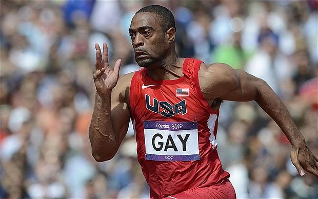 Tyson Gay London 2012