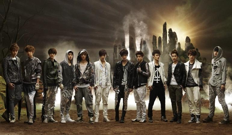 boy group EXO 21