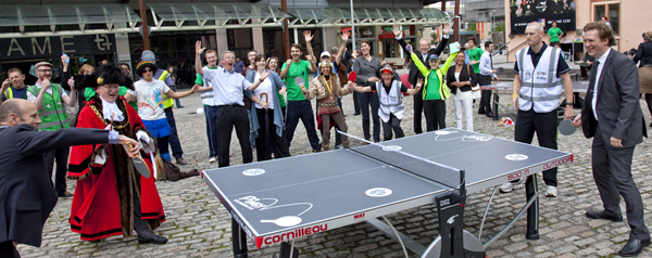 ping pong participation