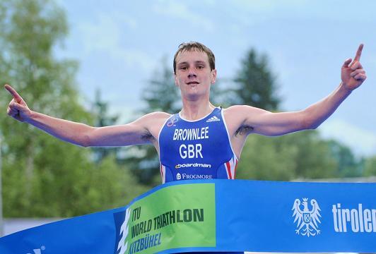 Alistair Brownlee wins in Kitzbühel July 6 2013
