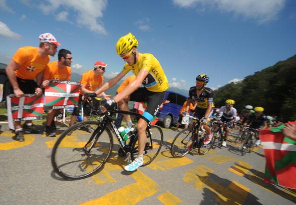 Chris Froome Tour de France July 7 2013