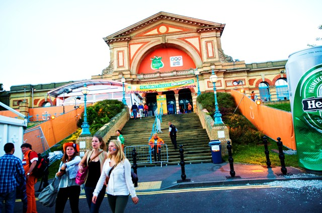 Holland Heineken House Alexandra Palace London 2012