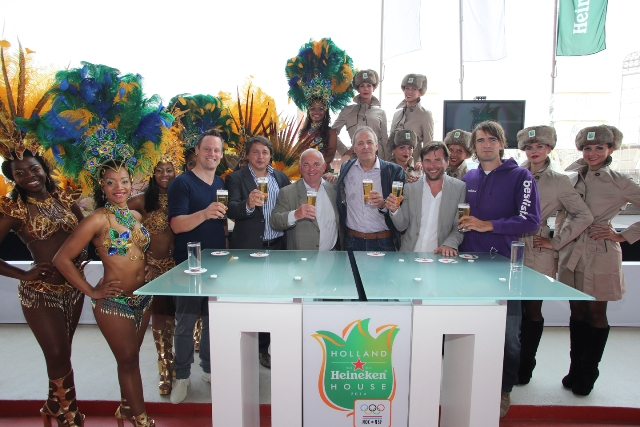 Holland Heineken House Sochi and Rio announcement July 24 2013