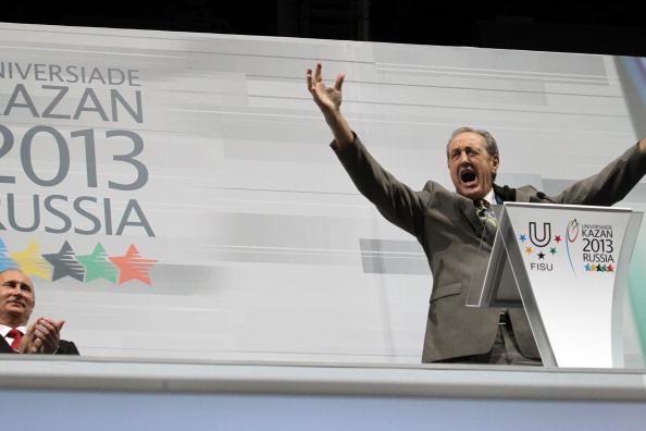 Kazan 2013 opening ceremony FISU President