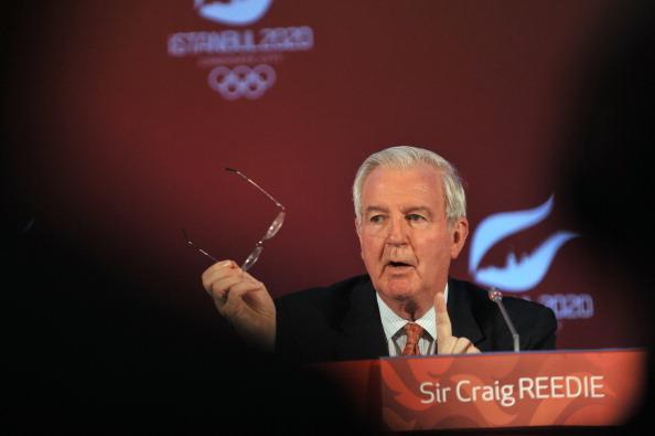 Sir Craig Reedie Istanbul 2020