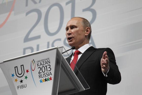 Vladimir Putin opens Kazan 2013