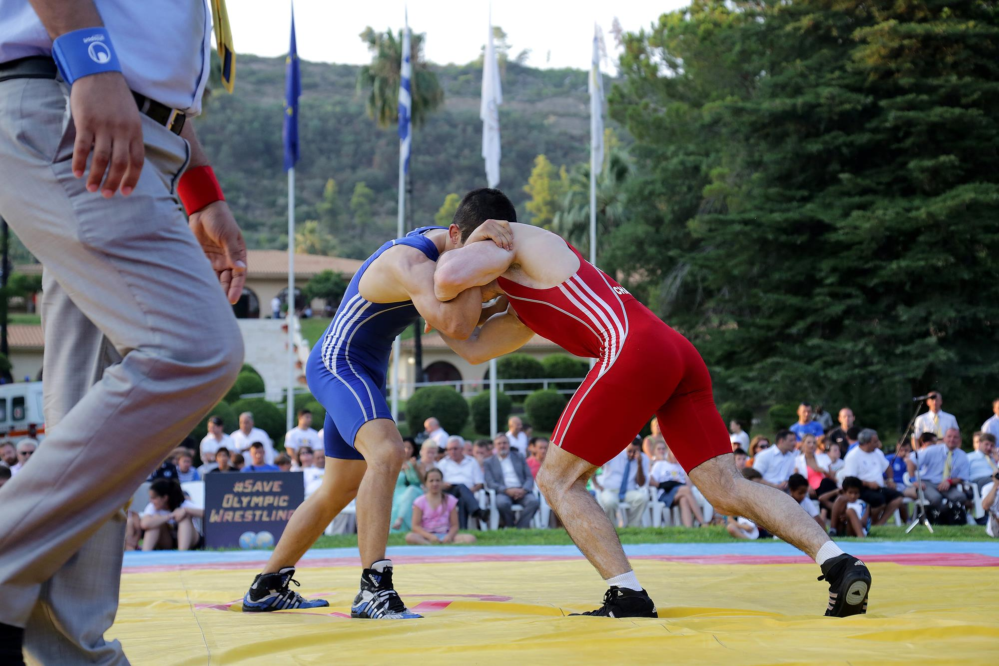 save olympic wrestling olympia