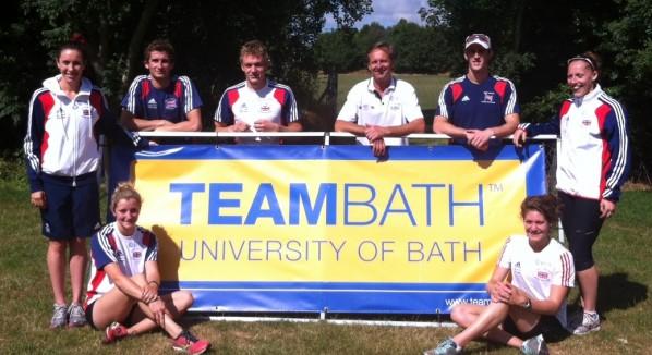 team bath modern pentathletes