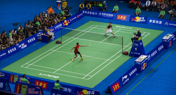 Temperatures in the Tianhe Gymnasium rose to a sweltering 32 degrees Celsius during the men's World Championship singles final in Guangzhou