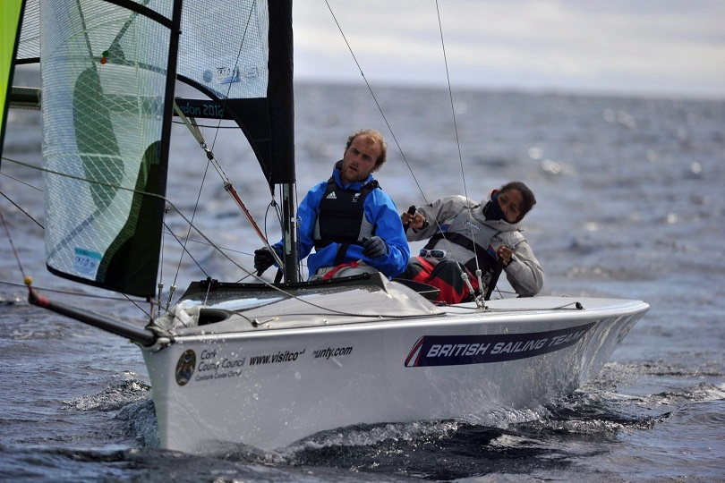 Alexandra Rickham and Nik Birrell took their fifth straight world title at the IFDS World Sailing Championships in Kinsale