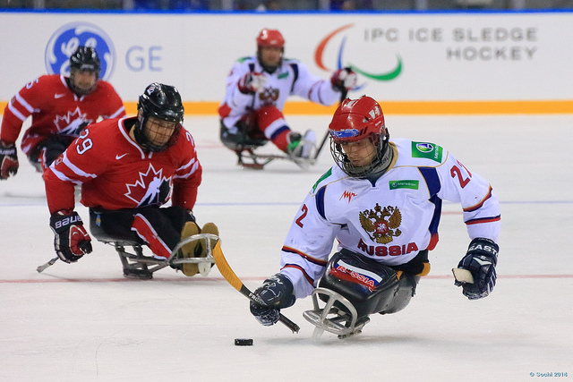 Russia came close but ultimately lost out on penalties to world champions Canada