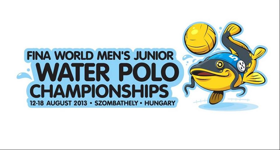 2013 Junior Water Polo WC logo