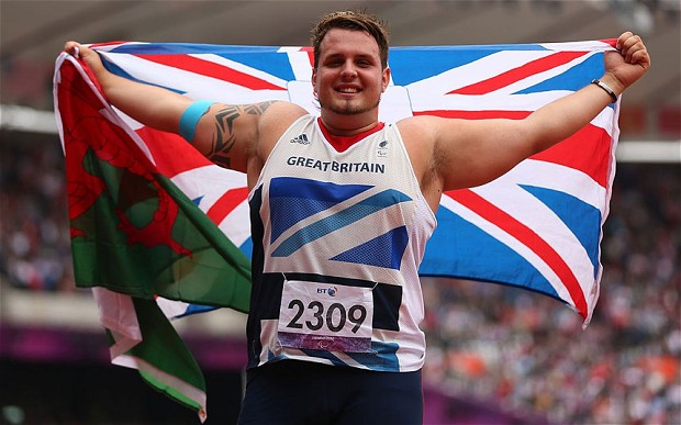 London 2012 gold medallist Aled Davies is among the stars due to attend National Paralympic Day on September 7