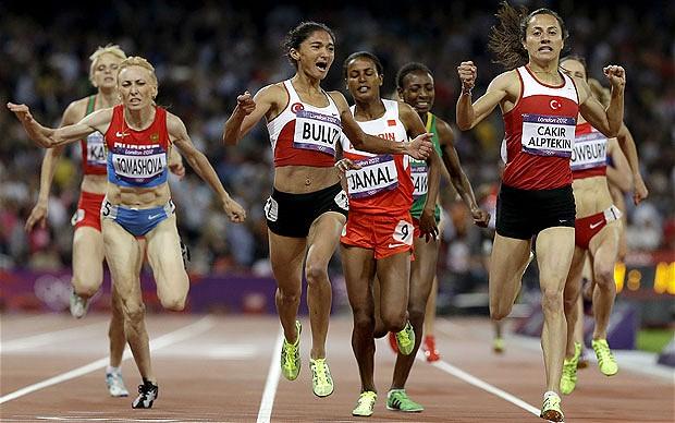 Aslı Çakır Alptekin wins Olympic London 1500m 2012