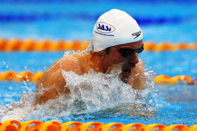 Australian Matthew Cowdrey won gold in the S9 50m freestyle in Montreal