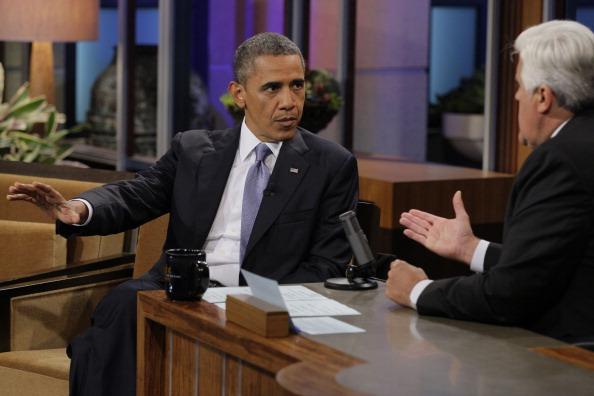 Barack Obama jay leno